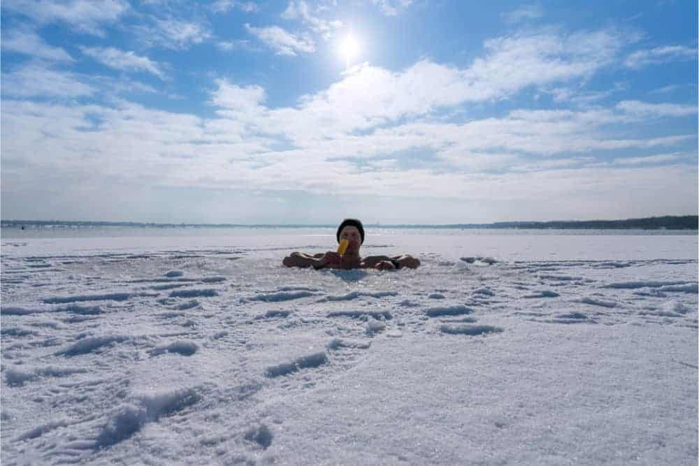 Eisbaden