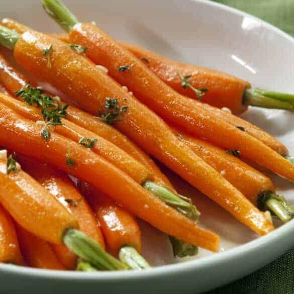 Glacierte Karotten Titelbild